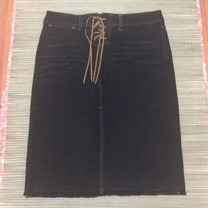 Express Jeans Denim Skirt - M110